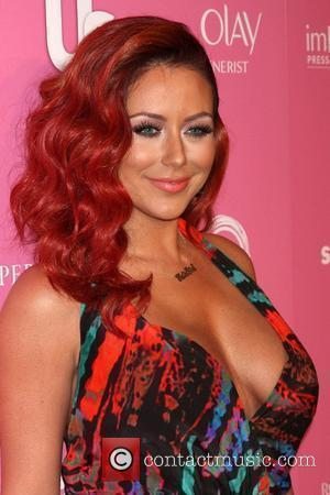 Aubrey O'Day The 2012 US Hot Hollywood Party held at Greystone Manor - Arrivals Los Angeles, California - 18.04.12