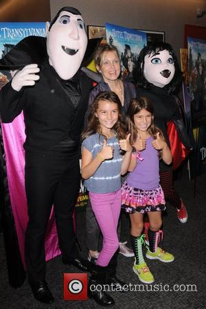 Alexandra Wentworth with daughters Elliott Stephanopoulos and Harper Stephanopoulos New York screening of 'Hotel Transylvania' - Arrivals New York City,...