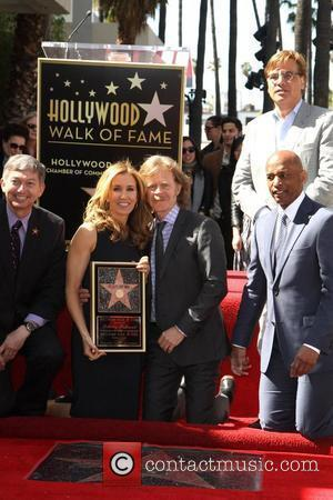 Leron Gruber, Felictiy Huffman And William H. Macy, Aaron Sorkin Felicity Huffman and her husband William H. Macy are honored...