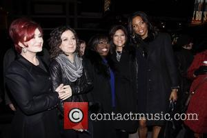 Sharon Osbourne, Aisha Tyler, Hugh Jackman, Julie Chen and Sara Gilbert