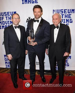 Hugh Jackman, Carl Goodman and Herbert S. Schlosser