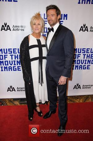 Hugh Jackman, Deborra-lee and Furness