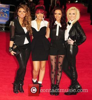 Jesy Nelson, Leigh-Anne Pinnock, Jade Thirwell and Perrie Edwards of Little Mix Royal Film Performance 2011: Hugo in 3D at...