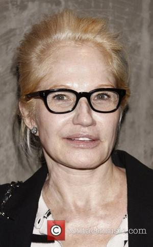 Ellen Barkin attending a celebration for the Off-Broadway play 'The Hunchback Variations' at the 59E59 Theaters. New York City, USA...