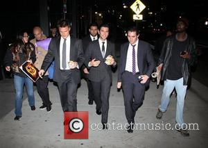 Wes Bentley leaving the Afterparty for the World Premiere of 'The Hunger Games'  Los Angeles, California - 12.03.12