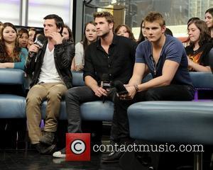 Josh Hutcherson, Alexander Ludwig and Liam Hemsworth