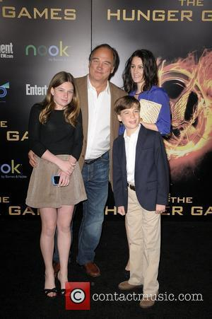 Jim Belushi and family  World Premiere of 'THE HUNGER GAMES' held at Nokia Theatre L.A. Live - Arrivals...