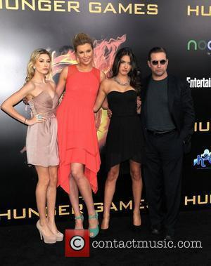 Stephen Baldwin and family  World Premiere of 'THE HUNGER GAMES' held at Nokia Theatre L.A. Live - Arrivals...