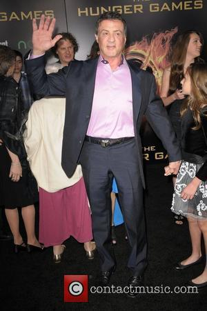 Sylvester Stallone  World Premiere of 'THE HUNGER GAMES' held at Nokia Theatre L.A. Live - Arrivals  Los Angeles,...