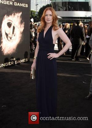 Paula Malcomson Los Angeles premiere of 'The Hunger Games' held at Nokia Theatre L.A. Live - Arrivals  Los Angeles,...