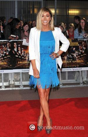 Jenny Frost The Hunger Games premiere held at the O2 - Arrivals. London, England - 14.03.12
