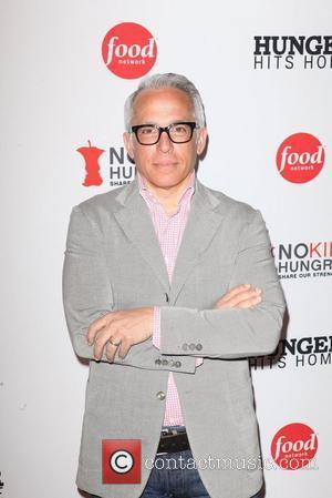 Geoffrey Zakarian, of Chopped 'Hunger Hits Home' screening at the Hearst Screening Room New York City, USA - 30.03.12