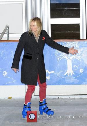 Jo Whiley Natural History Museum Ice Rink launch party - Inside  London, England - 01.11.12