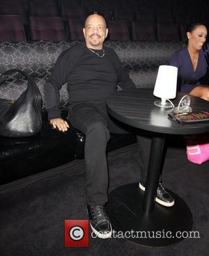 Ice T Ice T and wife Coco spend time together backstage before Coco's meet and greet with fans ahead of...