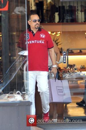 Ice-T aka Tracy Marrow shopping in Soho during a heat wave in Manhattan New York City, USA - 21.06.12