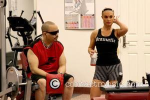 Ice T and his wife Coco seen working out at the gym  Las Vegas, Nevada - 21.12.12