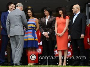 Prince Charles, Laurence Llewelyn-bowen, Myleene Klass and Suzi Perry