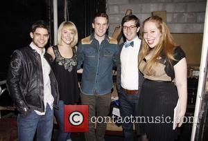 Jeremy Jordan, Ashley Spencer, Claybourne Elder, Kevin Michael Murphy and Jennifer Ashley Tepper If It Only Even Runs A Minute...