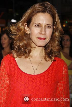 Jessica Hecht Opening night of the Off-Broadway play 'If There Is I Haven't Found It Yet' at the Laura Pels...
