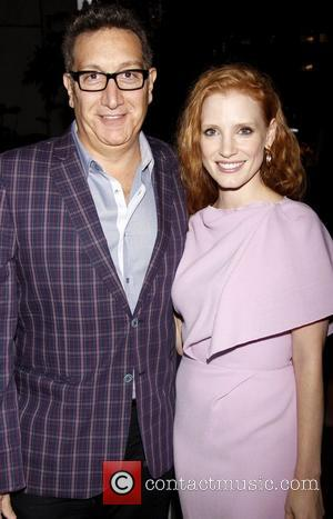 Moises Kaufman and Jessica Chastain
