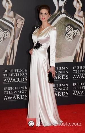 Amy Huberman The Irish Film and Television Awards 2012 at the Dublin Convention Centre - Arrivals Dublin, Ireland - 11.02.12