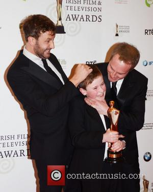 Chris O'Dowd; David Rawle; Guest Irish Film and Television Awards 2013 at the Convention Centre Dublin - Press Room...