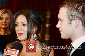 Michelle Keegan and Chris Fountain Irish Film and Television Awards 2013 at the Convention Centre Dublin - Arrivlas  Featuring:...