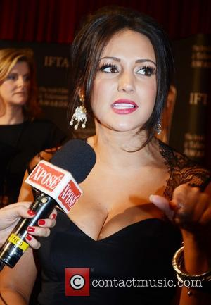 Michelle Keegan Irish Film and Television Awards 2013 at the Convention Centre Dublin - Arrivlas  Featuring: Michelle Keegan Where:...