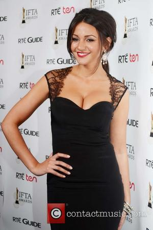Michelle Keegan Irish Film and Television Awards 2013 at the Convention Centre Dublin - Press Room  Featuring: Michelle Keegan...
