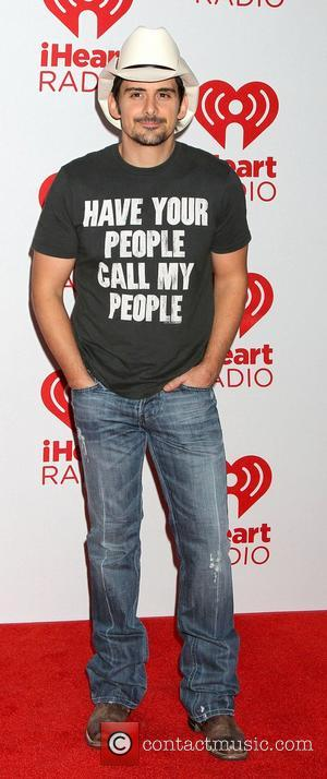 Brad Paisley,  at the iHeart Radio Music Festival 2012 - Day 2 - held at The Grand Garden Arena...