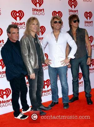 Bon Jovi iHeartRadio Music Festival at MGM Grand Garden Arena- Arrivals Las Vegas, Nevada - 21.09.12