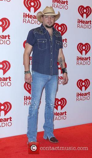 Jason Aldean iHeartRadio Music Festival at MGM Grand Garden Arena- Arrivals Las Vegas, Nevada - 21.09.12