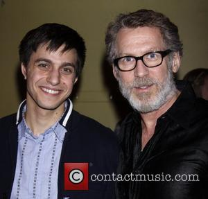 Gideon Glick and Stephen Spinella Opening night after party for 'An Iliad' at the New York Theatre Workshop. New York...