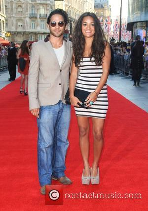 Reece Ritchie and guest 'iLL Manors' world premiere held at the Empire cinema - Arrivals London, England - 30.05.12