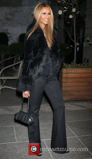 Iman out and about in New York New York City, USA - 09.11.12