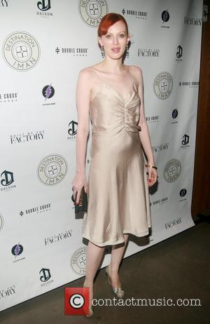 Karen Elson The Destination IMAN Website Launch Party at Dream Downtown  New York City, USA - 07.09.12