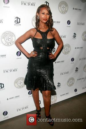 Iman The Destination IMAN Website Launch Party at Dream Downtown - Arrivals New York City, USA - 07.09.12