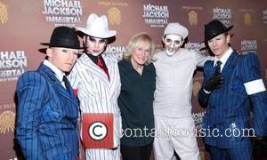 Glenn Close Cirque Du Soleil's Michael Jackson: The Immortal World Tour opening night at Madison Square Garden - Arrivals. New...