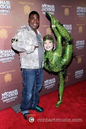 Tracy Morgan Cirque Du Soleil's Michael Jackson: The Immortal World Tour opening night at Madison Square Garden - Arrivals. New...