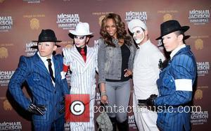 Tyra Banks Cirque Du Soleil's Michael Jackson: The Immortal World Tour opening night at Madison Square Garden - Arrivals. New...