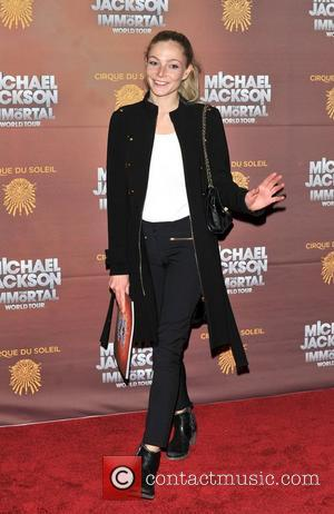 Clara Paget Michael Jackson: The Immortal World Tour, stage production of Cirque Du Soleil - European premiere held at The...