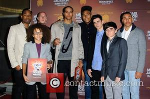 Diversity (dance troupe) 'Michael Jackson The Immortal World Tour' European Premiere at the O2 arena - Arrivals London, England -...