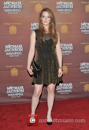 Olivia Hallinan Michael Jackson: The Immortal World Tour, stage production of Cirque Du Soleil - European premiere held at The...