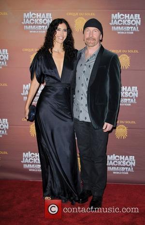 The Edge aka David Howell Evans 'Michael Jackson The Immortal World Tour' European Premiere at the O2 arena - Arrivals...