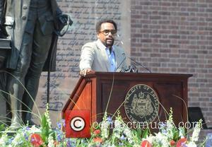 Hill Harper Philadelphia Independence Day Ceremony held at Independence Hall Philadelphia, USA - 04.07.12