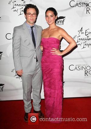 Tim Rock and Olivia Munn
