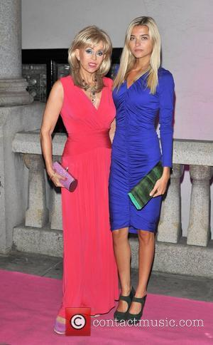 Sally Farmiloe and guest The Inspiration Awards For Women 2012 held at Cadogan Hall - Arrivals. London, England - 03.10.12