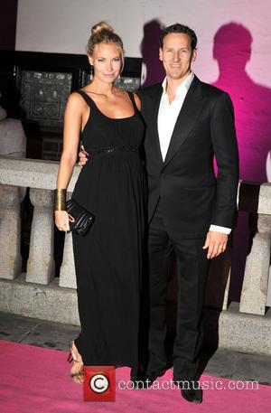 Brendan Cole and wife Zoe Hobbs The Inspiration Awards For Women 2012 held at Cadogan Hall - Arrivals. London, England...
