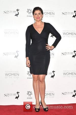 Amanda Lamb Daily Mail Inspirational Women of the Year Awards in support of Wellbeing of Women held at the Marriott...