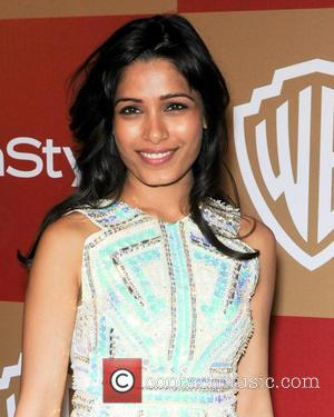 Freida Pinto InStyle And Warner Bros. Golden Globe After Party at The Beverly Hilton Hotel - Arrivals  Featuring: Freida...
